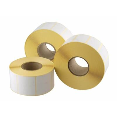 Etikett, thermo, 25x50 mm, 2000 etikett/tekercs (ISCT2550)