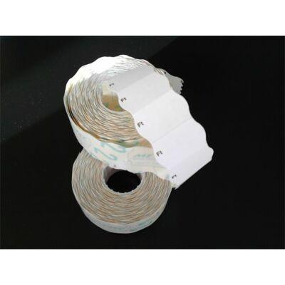 Árazógépszalag, 26x16 mm, METO, Ft, fehér (ISM2616FTF)