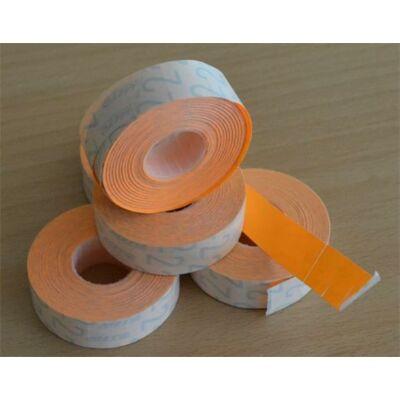 Árazógépszalag, 19x16 mm, METO, narancs (ISMKN)