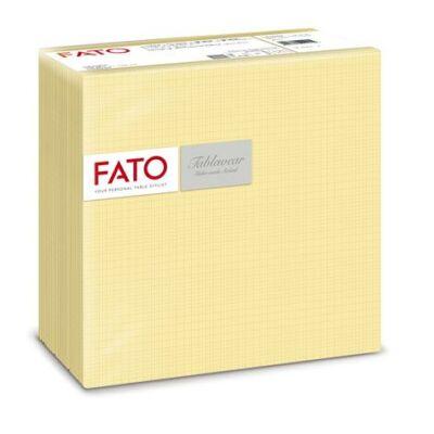 Szalvéta, 1/4 hajtogatott, 40x40 cm, FATO Airlaid Shade, pezsgő (KHH601)