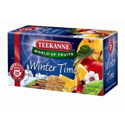 Gyümölcstea, 20x2,5 g, TEEKANNE Winter time fahéj (KHK324)