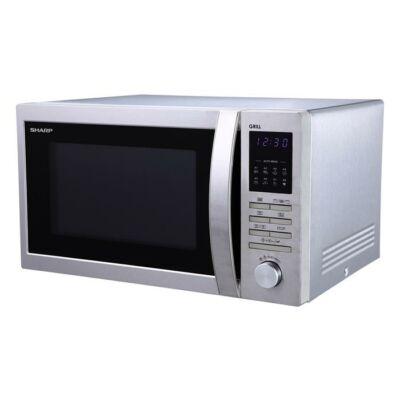 Mikrohullámú sütő, grilles, SHARP R722STWE (KHKGS002)