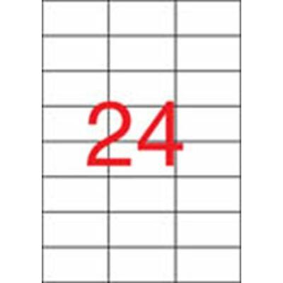Etikett, univerzális, 70x37 mm, APLI, 600 etikett/csomag (LCA10818)