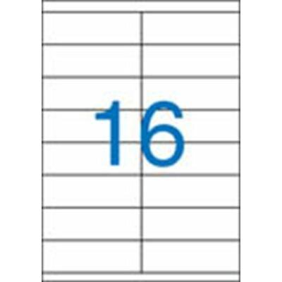 Etikett, univerzális, 105x35 mm, VICTORIA, 1600 etikett/csomag (LCV11381)