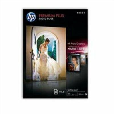 CR673A Fotópapír, tintasugaras, A4, 300 g, félfényes, HP (LHPCR673A)