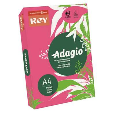 Másolópapír, színes, A4, 80 g, REY Adagio, intenzív fukszia (LIPAD48IF)