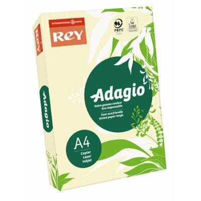 Másolópapír, színes, A4, 80 g, REY Adagio, pasztell csontszín (LIPAD48PE)