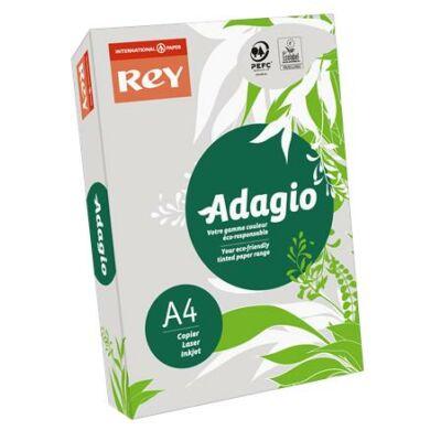 Másolópapír, színes, A4, 80 g, REY Adagio, pasztell szürke (LIPAD48PSZ)