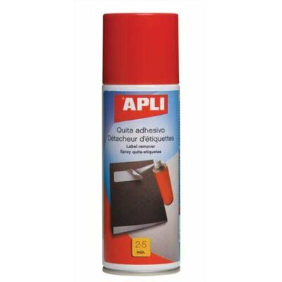 Etikett és címke eltávolító spray, 200 ml, APLI (LTIA11303)