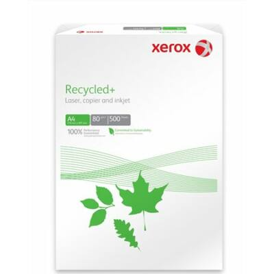 Másolópapír, újrahasznosított, A3, 80 g,  XEROX Recycled Plus (LX91913)