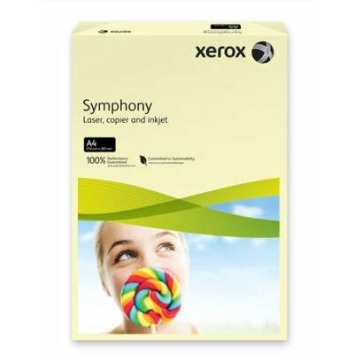 Másolópapír, színes, A4, 160 g, XEROX Symphony, csontszín (pasztell) (LX93219)