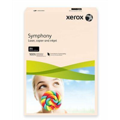 Másolópapír, színes, A4, 160 g, XEROX Symphony, lazac (pasztell) (LX93230)