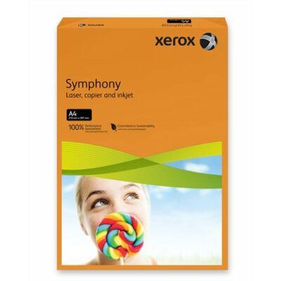 Másolópapír, színes, A4, 80 g, XEROX Symphony, narancs (intenzív) (LX93953)