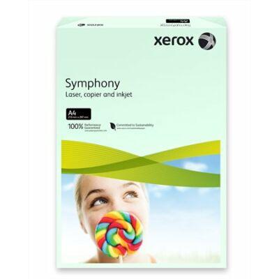 Másolópapír, színes, A4, 80 g, XEROX Symphony, világoszöld (pasztell) (LX93965)