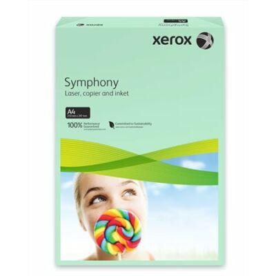Másolópapír, színes, A4, 80 g, XEROX Symphony, zöld (közép) (LX93966)
