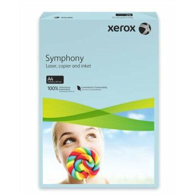 Másolópapír, színes, A4, 80 g, XEROX Symphony, kék (közép) (LX93968)