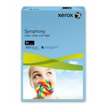 Másolópapír, színes, A4, 160 g, XEROX Symphony, sötétkék (intenzív) (LX94814)