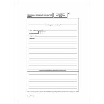 Nyomtatvány, vásárlók könyve, 25x2, A4, VICTORIA B.11-1 (NVB111)