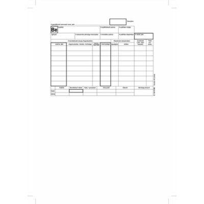Nyomtatvány, készletbevételezési bizonylat, 25x4, A5, VICTORIA B.12-111 (NVB12111)