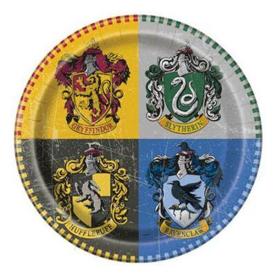 Tányér, papír, 22 cm, Harry Potter (PT59105)