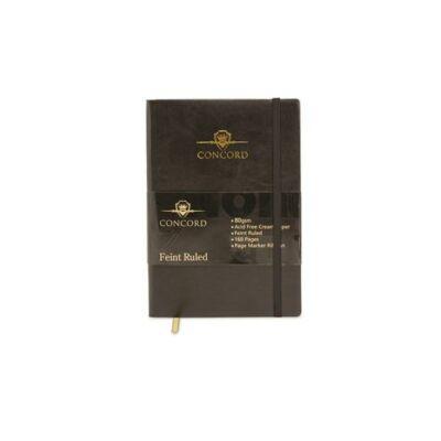 Jegyzetfüzet, exkluzív, A5, vonalas, 80 lap, CONCORD Noir Flexi (PUCO7537)