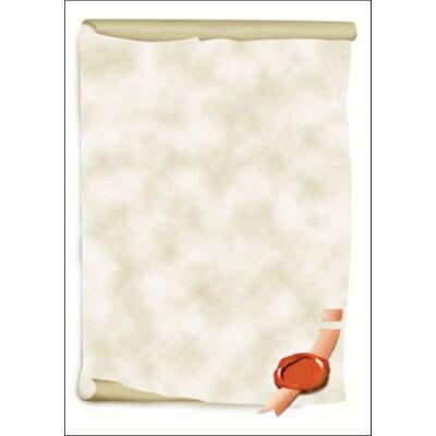 Előnyomott papír, A4, 185 g, SIGEL Viaszpecsét (SDP521)