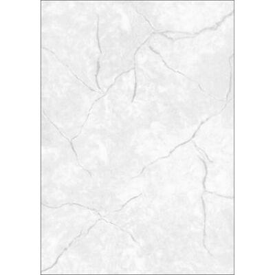 Előnyomott papír, kétoldalas, A4, 90 g, SIGEL, szürke, gránit (SDP637)