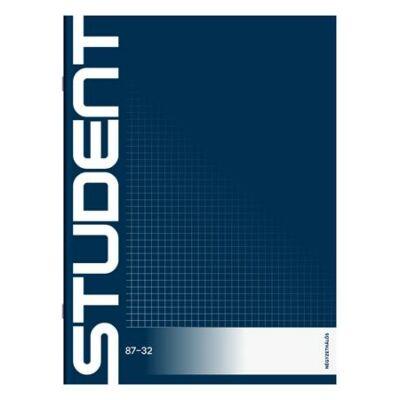 Füzet, tűzött, A4, kockás, 32 lap, ICO Student (TICSFK)
