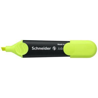 Szövegkiemelő, 1-5 mm, SCHNEIDER Job 150, sárga (TSCJOB150S)