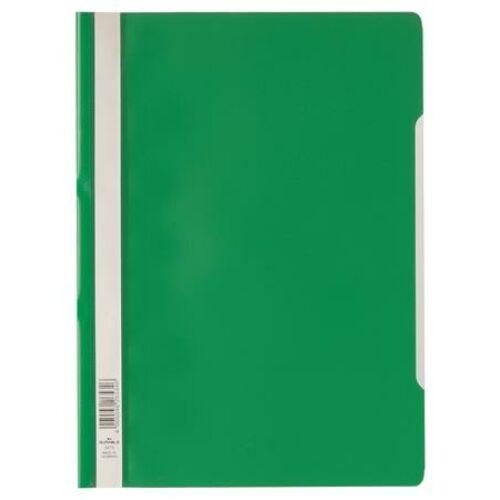 Gyorsfűző, PP, A4, DURABLE Economy, zöld (DB257305)