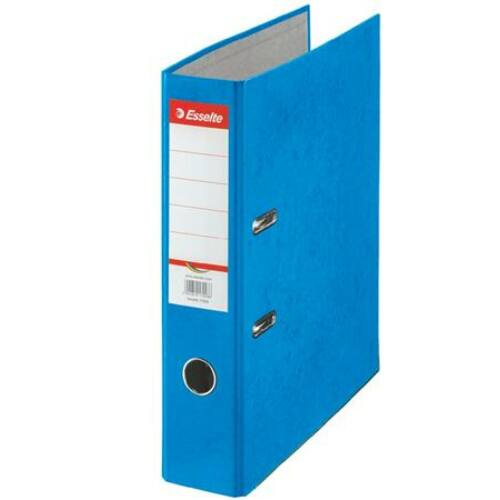 Iratrendező, 75 mm, A4, karton, ESSELTE Rainbow, kék (E17925)