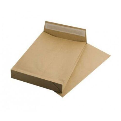 Redős-talpas tasak, TB4, szilikonos, 40 mm talp, VICTORIA, barna kraft (IBI17)