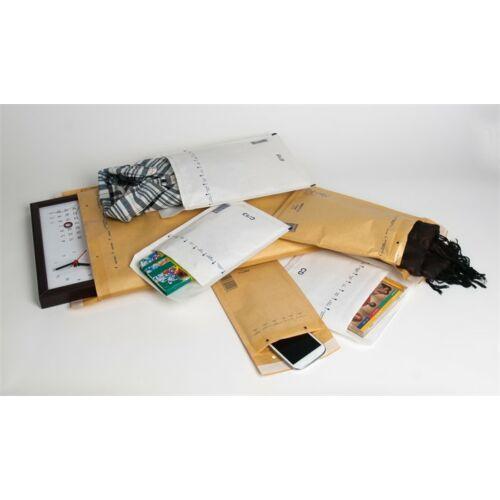 Légpárnás tasak, 175x200 mm külméret, 165x180 mm belméret, VICTORIA, CD boríték, barna (IBIL13B)