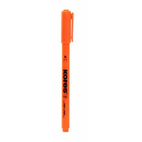 Szövegkiemelő, 0,5-3,5 mm, KORES, narancssárga (IK36204)
