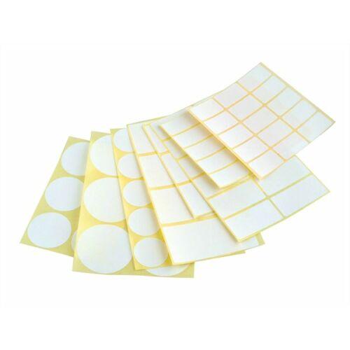 Etikett, köralakú, 50 mm átmérő, 60 etikett/csomag (ISCIK50)