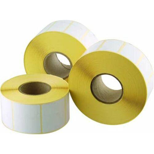 Etikett, thermo, 50x100 mm, 1000 etikett/tekercs (ISCT50100)