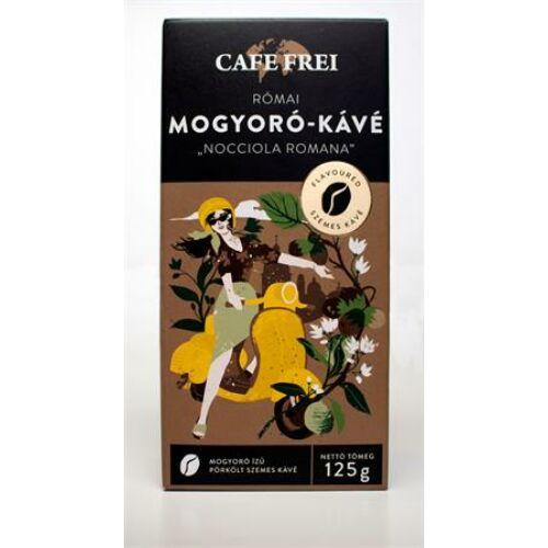 Kávé, pörkölt, szemes, 125 g, CAFE FREI Római mogyoró (KHK488)