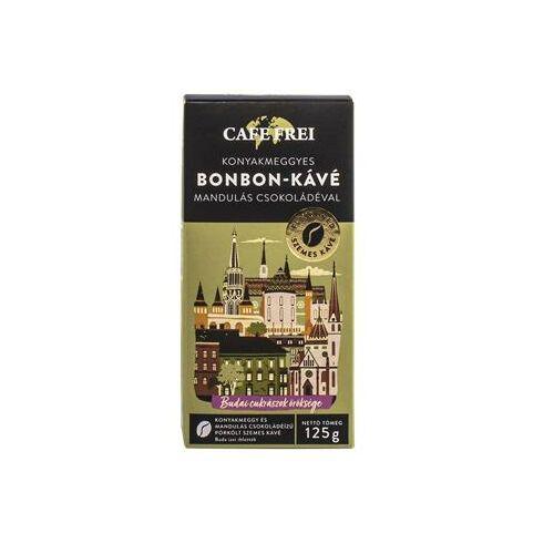 Kávé, pörkölt, szemes, 125 g, CAFE FREI Konyakmeggyes Bonbon (KHK541)