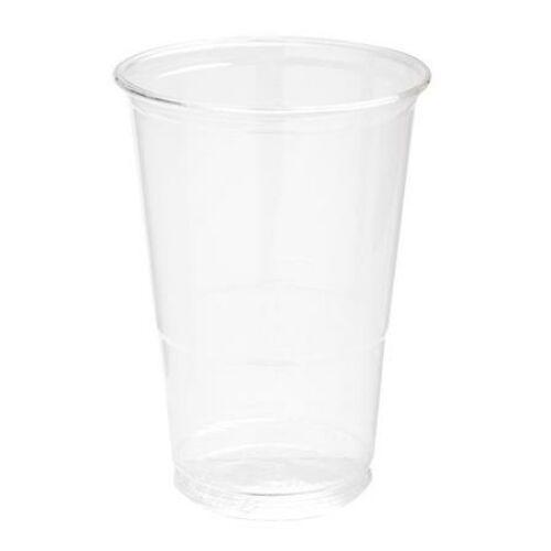 Műanyag pohár, Multi Pet, 2 dl, víztiszta, sima felületű (KHMU011VT)