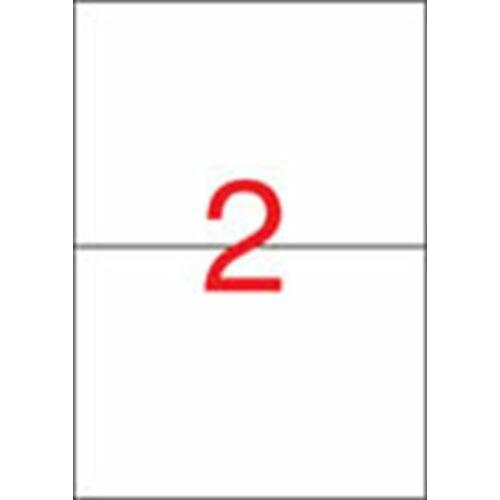 Etikett, univerzális, 210x148 mm, APLI, 50 etikett/csomag (LCA10919)