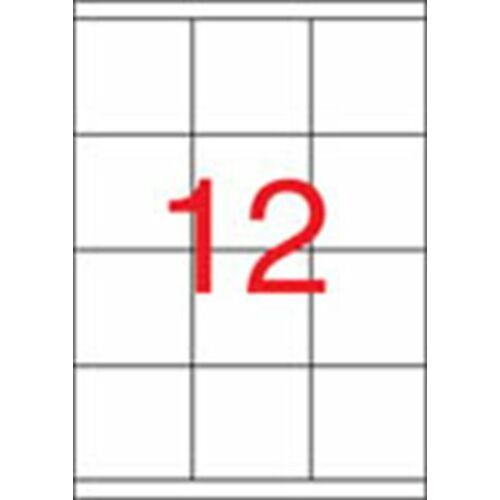 Etikett, univerzális, 70x67,7 mm, APLI, 1200 etikett/csomag (LCA1290)