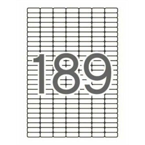 Etikett, univerzális, kerekített sarkú, 25,4x10 mm, APLI, 1890 etikett/csomag (LCA12927)
