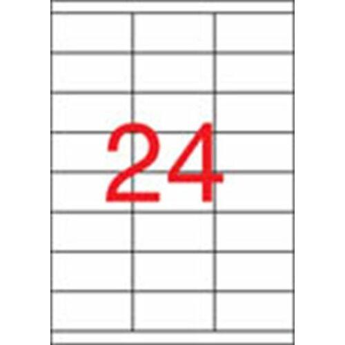 Etikett, univerzális, 70x33,8 mm, APLI, 2400 etikett/csomag (LCA1293)