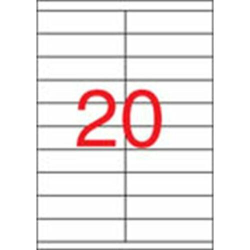 Etikett, univerzális, 105x29 mm, APLI, 2000 etikett/csomag (LCA1299)