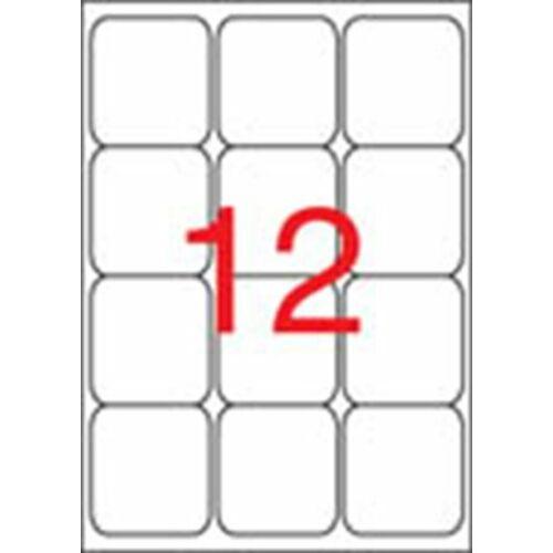 Etikett, univerzális, 63,5x72 mm, kerekített sarkú, APLI, 1200 etikett/csomag (LCA2416)
