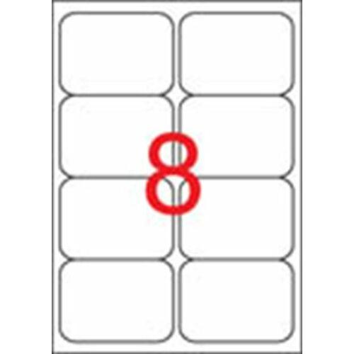 Etikett, univerzális, 99,1x67,7 mm, kerekített sarkú, APLI, 800 etikett/csomag (LCA2420)