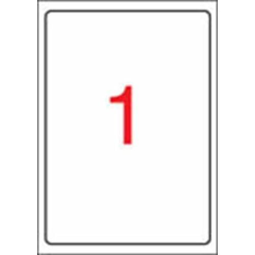 Etikett, tintasugaras nyomtatóhoz, 199,6 x 289,1 mm, fényes, fotóminőségű, APLI, 10 etikett/csomag (LCA2926)
