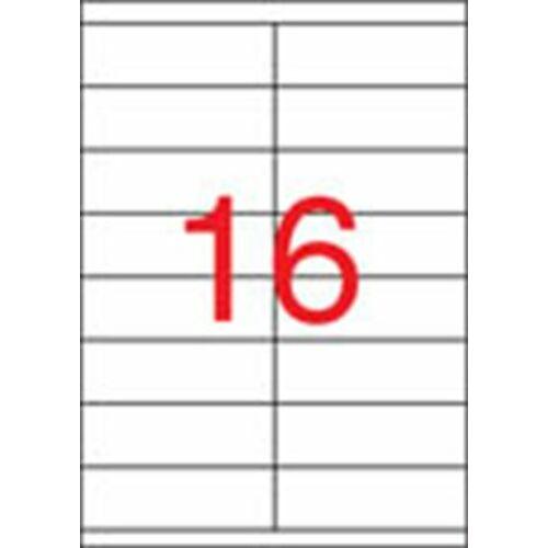 Etikett, univerzális, 105x35 mm, APLI, 1600 etikett/csomag (LCA3137)