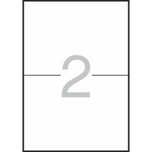 Etikett, 105x148 mm, A5 hordozón, APLI, 30 etikett/csomag (LCA7107)