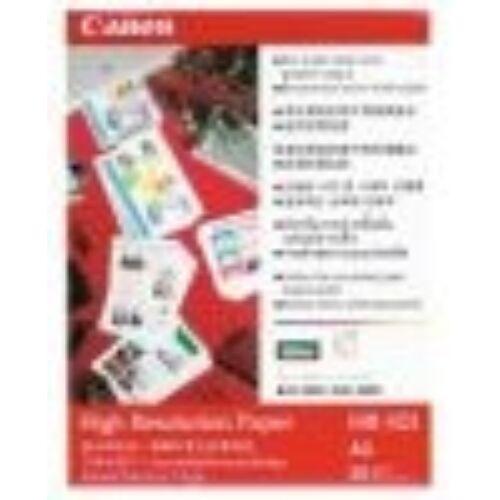 HR-101 Fotópapír, tintasugaras, A3, 106 g, matt, nagyfelbontású, 20 lapos CANON (LCHR101A32)